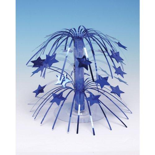 Creative Converting 193256 Royal Blue Star Cascade Centerpiece
