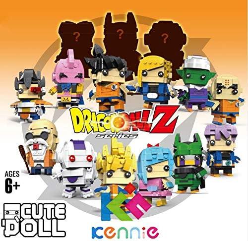 MSC Toy Figura de Piccolo Daimao Dragonball Dragon Ball Puzzle Juego Bloques de construccion tama/ño 9 cm DIY Mini Building Puzzle Juguete ni/ños colecci/ón