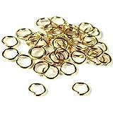 40 14K Gold Filled Jump Rings Open Jewelry 22 Gauge