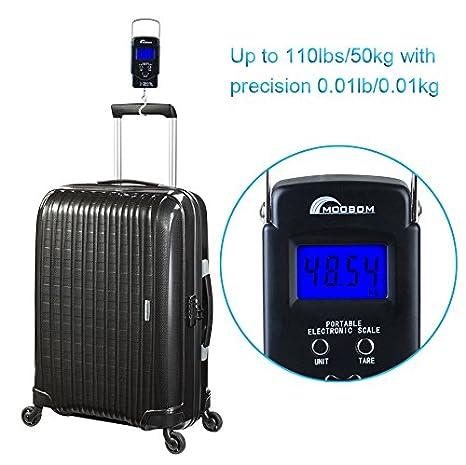 Image result for Moobom Portable Backlit LCD Display Digital Fishing and Luggage Hanging Hook