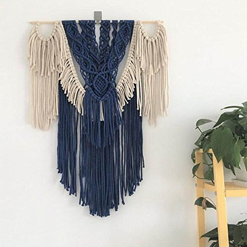 Vintage Macrame Wall Hanging Tapestry,BOHO Style Chic