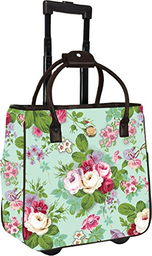 Anna Griffin Amelie Floral Rolling Tote