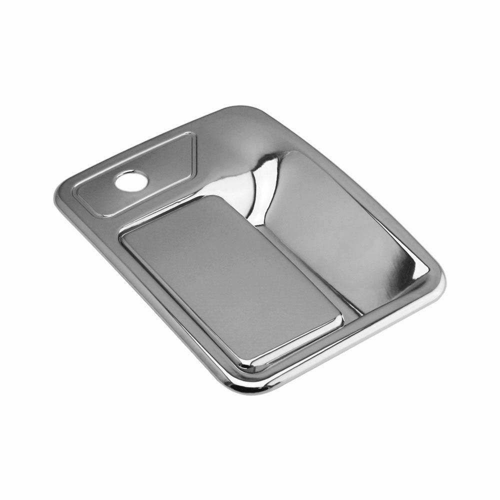 XG7748 SEGADEN Chrome Plated Door Handle Cover fit for 1999-2016 FORD F-250 F-350 F-450 Super Duty 4 Doors Left Hand Drive No Passenger Keyhole