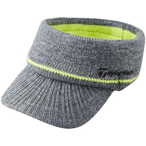 テーラーメイド Taylor Made 帽子 ニットサンバイザー LOB17 グレー N64725 フリー