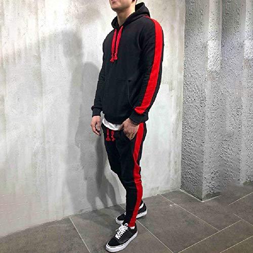 Tops Capuche Polaires Sets Automne Sport A Poche Survêtement Sweatshirt Ensembles Homme Zippé Hiver Unicolore Noir De Pantalons Haut Pretty EAwWWnzpq