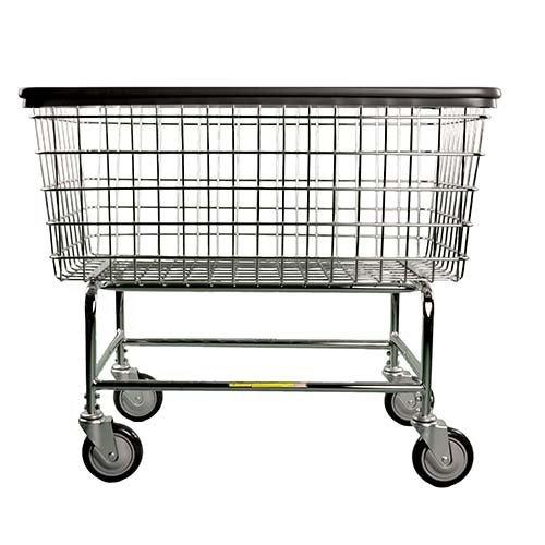 Large Capacity Laundry Cart (201H R&B Wire 6 Bu. Laundry Cart)