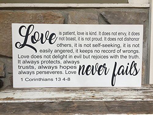 Love Never Fails, 1 Corinthians 13 4-8 12