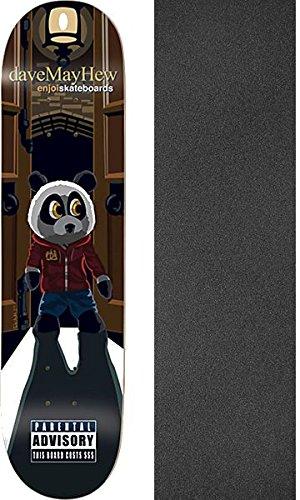 メンバー子音フィットEnjoi Skateboardsデイヴィッド?メイヒューゲストエンジョイスケートボードデッキDivision resin-7 – 8 x 31.6 CMでMob Grip Perforated Griptape – 2アイテムのバンドル