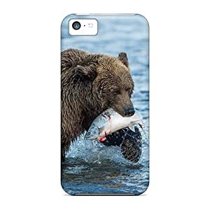 For Iphone 5c Protector Case Grizzly Hunting Phone Cover