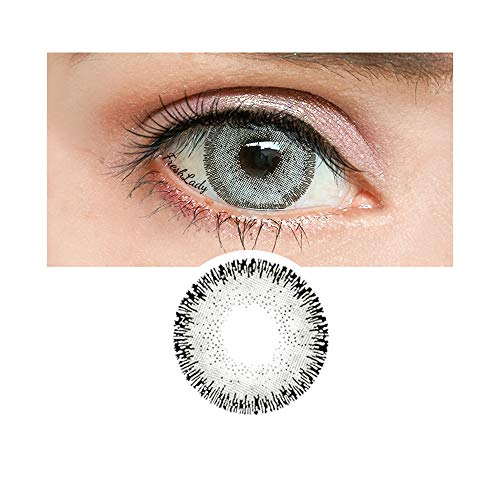 Women Multi-Color Contact Lenses Cosplay Eyes Cute Colored Charm and Attractive Cosmetic Makeup Eye -