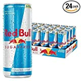 Red Bull Sugarfree, Energy Drink, 8.4 Fl Oz Cans, 24 Pack - Pack of 2