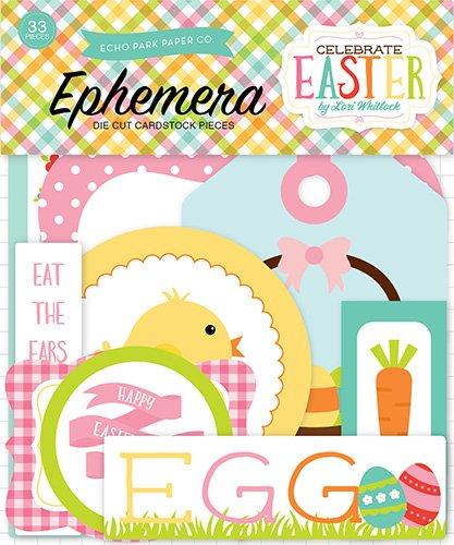 Echo Park Paper Company CE121024 Celebrate Easter Ephemera ()