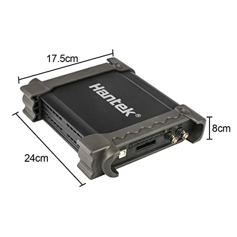 Osciloscopio para PC de diagn/óstico automotriz 1008C 8CH 2.4MSa // s USB 2.0 Osciloscopio de almacenamiento digital 400V // 100K Program Generator Alcance de diagn/óstico automotriz DC AC Peak