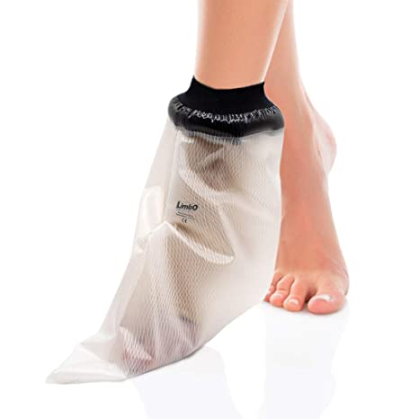 7f051691f6a LimbO Waterproof Foot Protector - Watertight shower cover for bandages and  light dressings - (M20