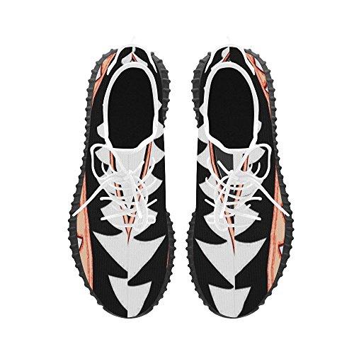 D-story Haaientanden Grus Heren Boost Schoenen Boost Sneakers Energy Bounce Ademend Geweven Hardloopschoenen Voor Heren