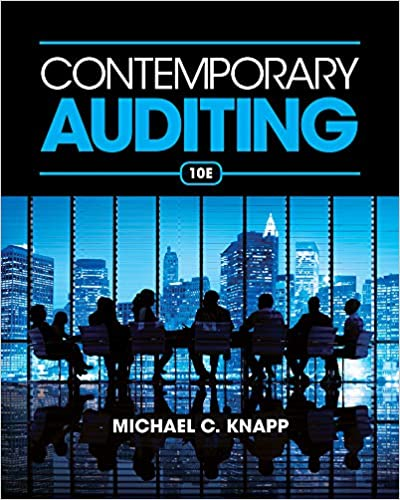 contemporary auditing real issues and cases 10th edition pdf