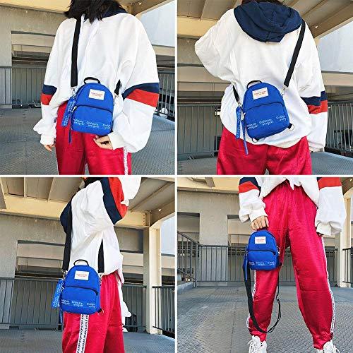 Bags Al Hombro Negro Oscuro Bolso Mujer Shoulder Para Azul AwE14gqddx