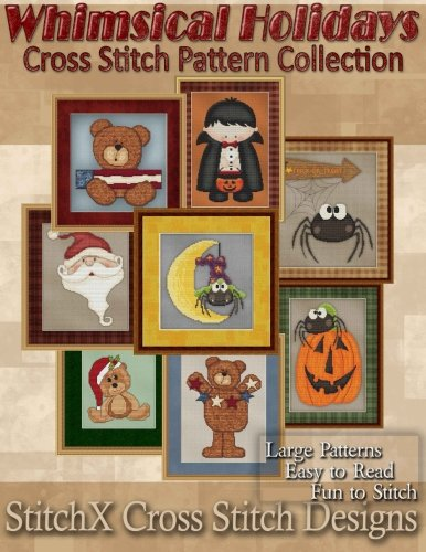Whimsical Holiday Cross Stitch Pattern Collection -