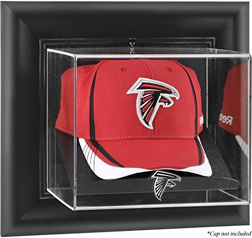Atlanta Falcons Framed Wall Mounted Logo Cap Display Case