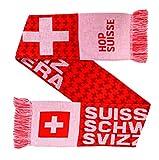Switzerland Soccer Knit Scarf