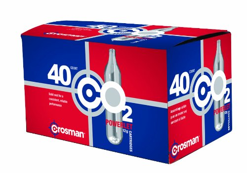 Crosman 12 Gram CO2 Cartridges - Pack of 40