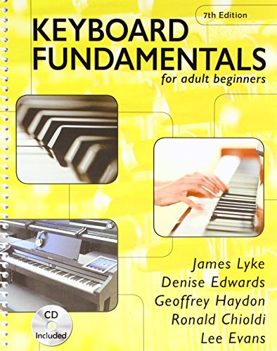 Keyboard Fundamentals for adult beginners 7th ed.