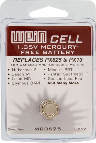 Battery, WEIN Cell PX625 Replacement Box of 12 - MRB625-12