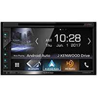 Kenwood Excelon DDX6904S In-Dash 6.8 Touchscreen Display DVD Receiver with Built in Bluetooth & HD Radio