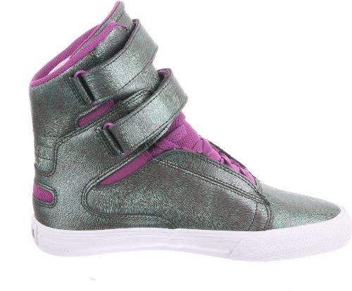 Sneaker 5 Donna Purple Verde Eu 35 Sw34113 White green Supra Jkw qfapRR