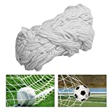 Jing绳网 Climbing net Child Safety Net Protective Safety Rope Net Decor Mesh,Nylon Woven Mesh Indoor Railing Net Toy Pet Shatter-Resistant Net (Size : 2x6m) Decoration Safety net
