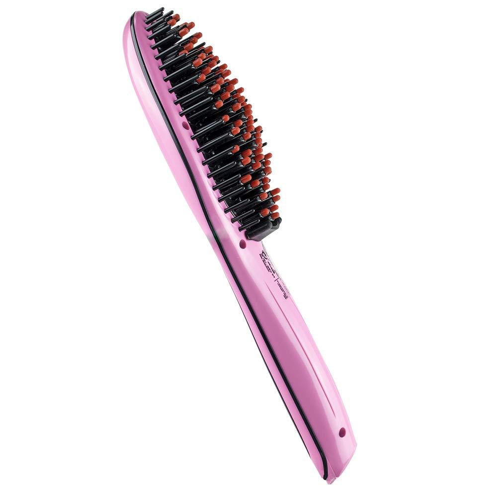 ID Italian IDELISSBRUSH50W Utensilio de peinado Cepillo alisador Caliente 50 W - Moldeador de pelo (Cepillo alisador, Caliente, Todo el pelo, Cabello ...