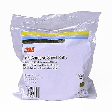 P80 Grit 3M 2599 3M Stikit Gold Sand Paper Sheet Roll 2-3//4 x 25 yards