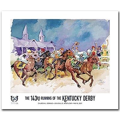 2017 Official Kentucky Derby Poster