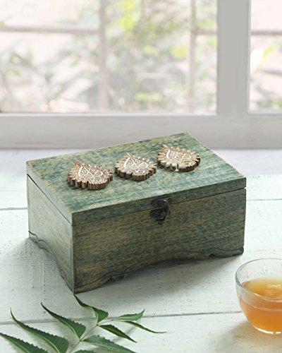 Find Discount storeindya, Tea Boxes Wooden/Tea Box Organizer/Tea Box Holder/Tea Storage Box/Tea Ches...