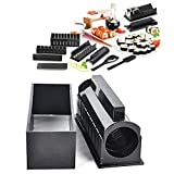 Sushi Maker Kit Rice Roll Mold Kitchen DIY Easy Chef Set Mould Roller Cutter
