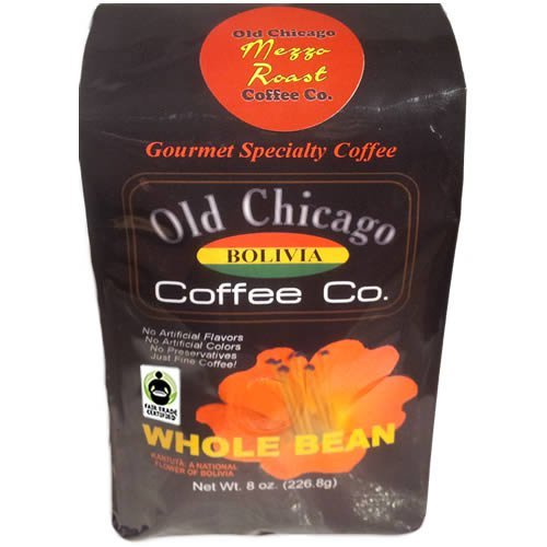 Old Chicago C00101 Fair Trade Certified Bolivian Medium Roast Beans, Pack Of 2