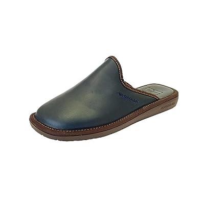 Nordikas - Zapatillas de Estar por casa para Hombre Azul Marino Navy: Amazon.es: Zapatos y complementos