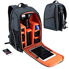 Features:       1. The plug-in camera partition can be constructed as a number of small partitions, each of which can accommodate a standard zoom lens.       2. The camera compartment pad pocket is shockproof and separates the camera b...