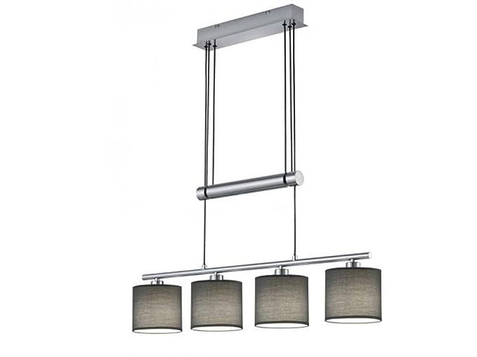 Lámpara colgante 4 luces Garda con LED, Jojo colgante con ...
