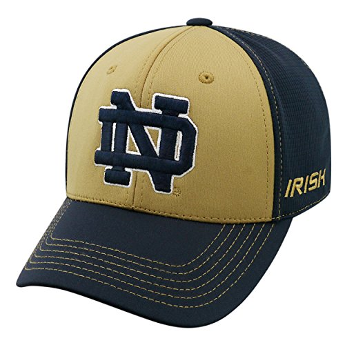 Top of the World NCAA-Dynamic-One-Fit-Memory Fit-Hat Cap-L/XL-Notre Dame Fighting Irish