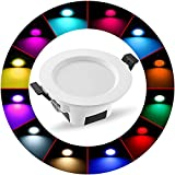 Wireless Bluetooth 5W LED Recessed Spot RGBWC 5
