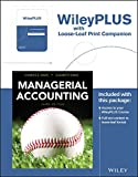 img - for Managerial Accounting, 3rd Edition Loose-Leaf Print Companion with WileyPLUS Card Set book / textbook / text book