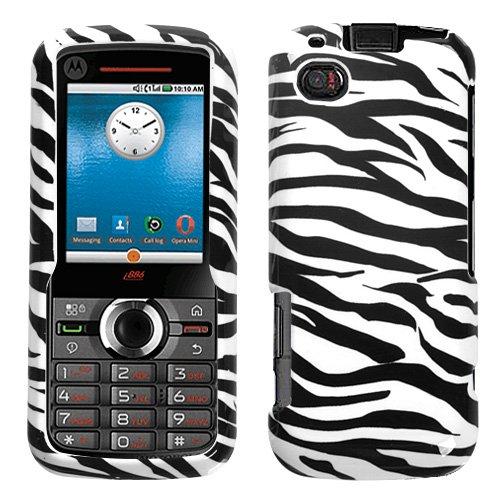 Zebra Motorola Faceplates (Zebra Skin Phone Protector Faceplate Cover For MOTOROLA i886)