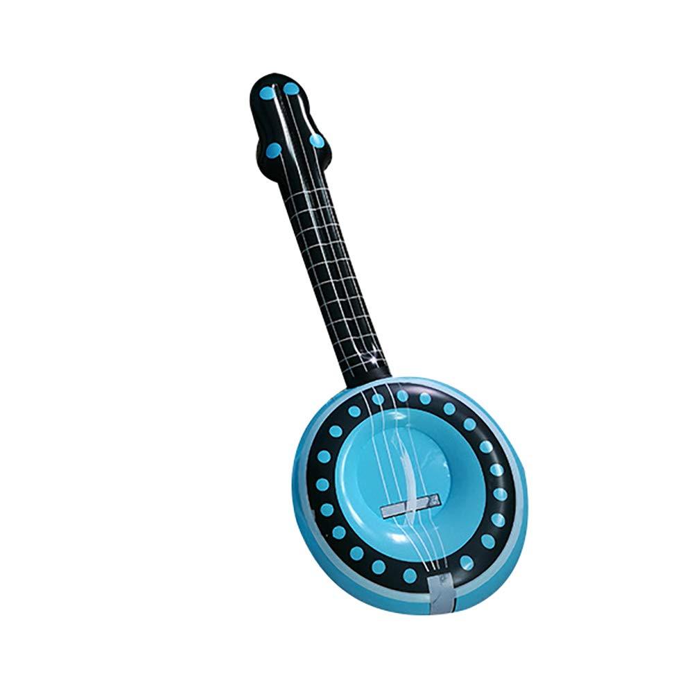 Man9Han1Qxi - Micrófono Hinchable de PVC, Instrumento Musical ...