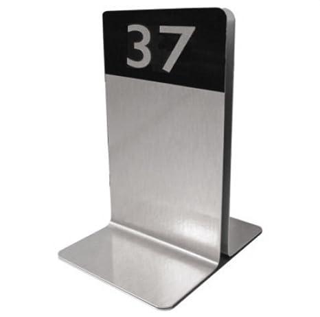 Single Channel aluminio soporte para cartas de menú ...