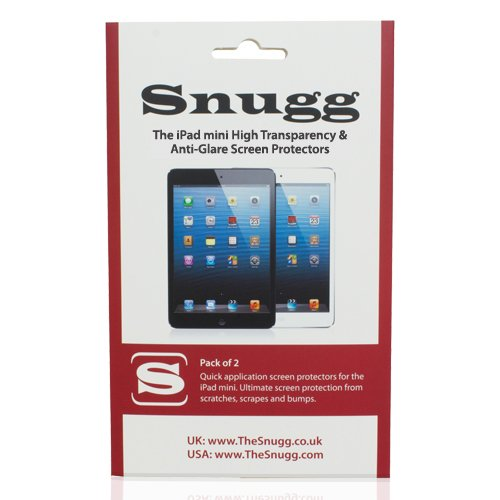 Snugg iPad Transparency Screen Protectors