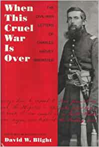 what this cruel war was over What this cruel war was over: slavery and the civil war in this activity students will examine how attitudes towards slavery and the civil war.