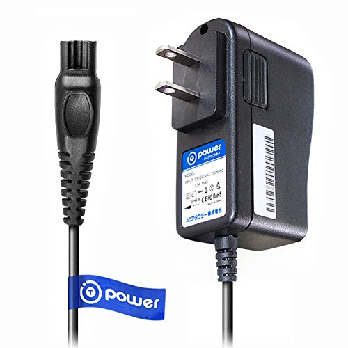 T-Power Ac Dc Adpater Rapid Charger ((5 ft Long Cable)) for Philips Norelco Precision, Bodygroom, Arcitec, Spectra, SensoTouch Electric Shaver Razor HQ8505/8500X SmartTouch-XL Speed-XL HQ Series.