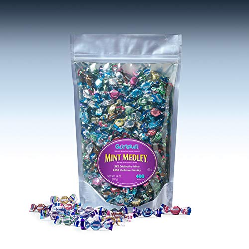 Glitterati MINT MEDLEY - Famous Miniature Hard Candies (400 Ct. Pouch)