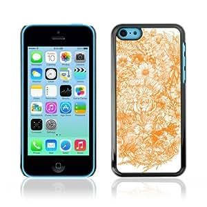 MMZ DIY PHONE CASEYOYOSHOP [Elegant Floral Pattern Drawing] Apple iphone 6 plus 5.5 inch Case